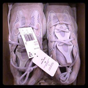 New Adidas Yeezy 500 Salt, Size: 8 US, 7.5 UK